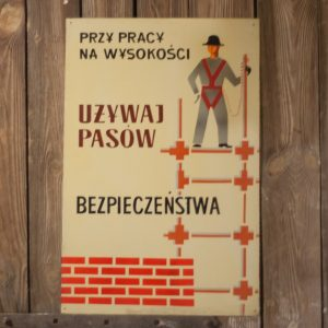 Tablica BHP, PRL