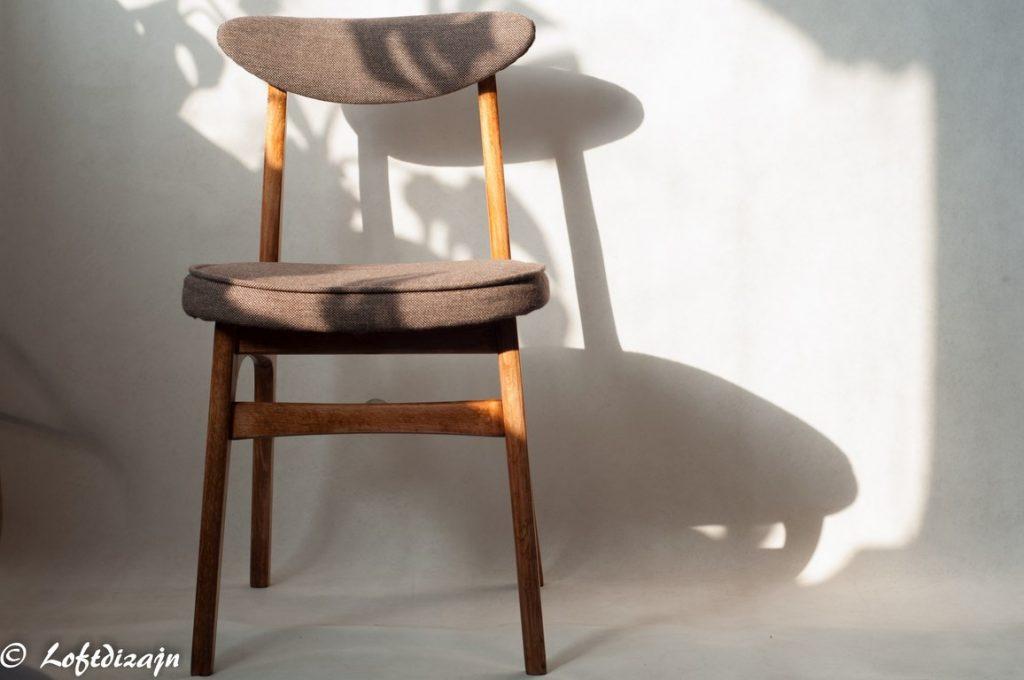meble prl. krzesło model 200-190