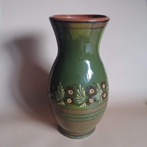 Duży wazon kamionkowy, lata 70, Łysa Góra