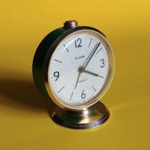 slava zegarek budzik radziecki prl