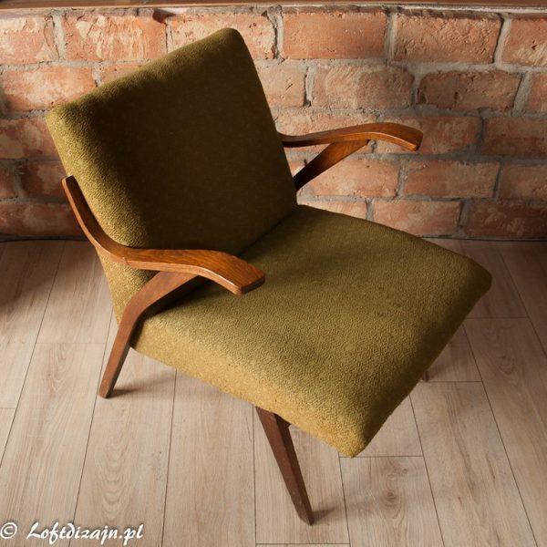 Fotel czechosłowacki lata 60 loftdizajn