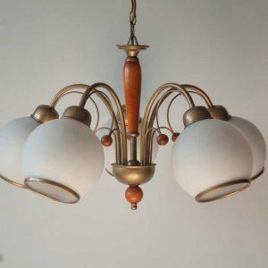 lampa sufitowa PRL