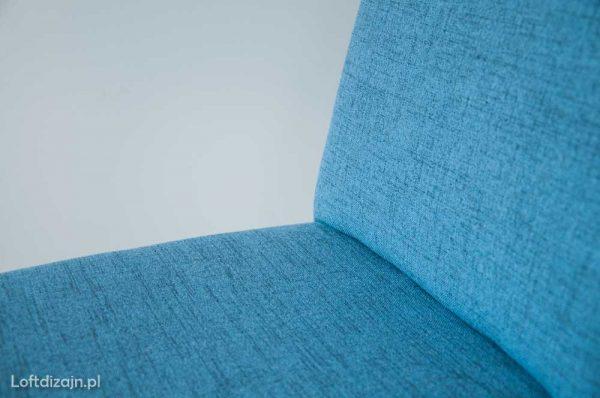 Krzesło Aga, niebieska