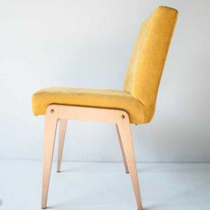 Krzesło Aga żółty