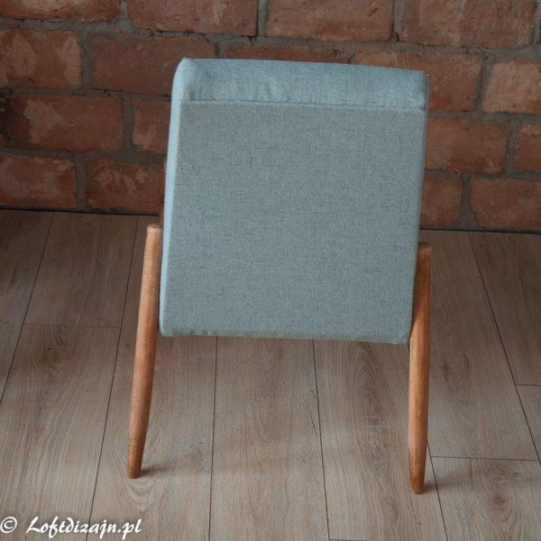 Minimalistyczny Fotel prl model 300-227,