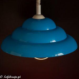 niebieska lampa loftdizjan