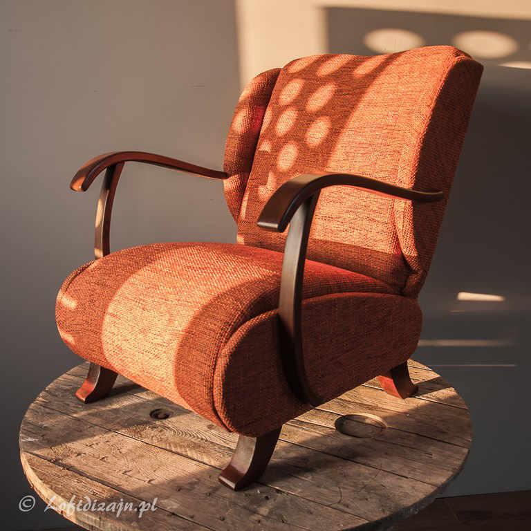Meble vintage. Uszak fotel PRL 1960 LOFT