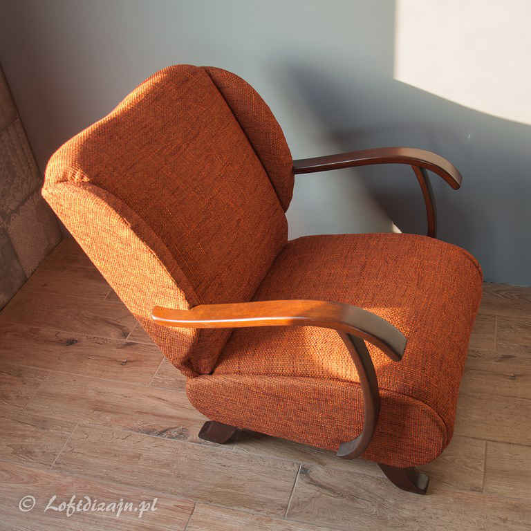 Fotel Uszak po renowacji