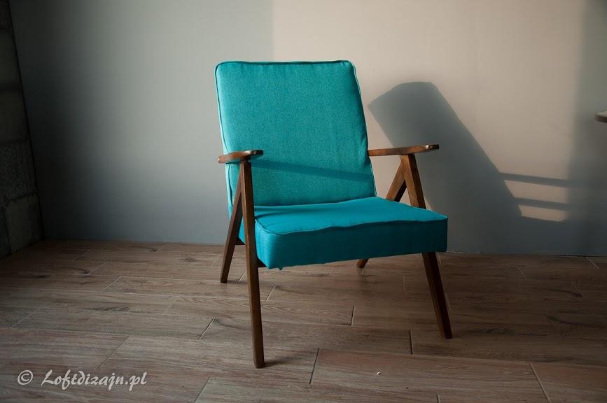 Fotel Var 310 historia prl meble