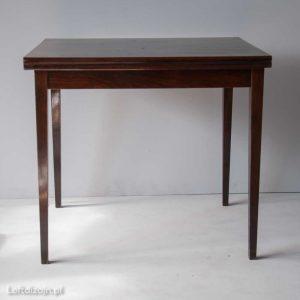 Stół prostokątny, rozkładany, PRL