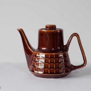 Dzbanek do kawy z Pruszkowa, wzór krata.