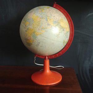 Globus vintage okres PRL loftdizajn.pl