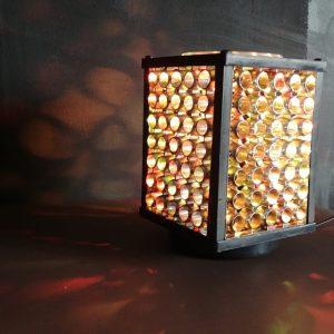 Lampa dyskotekowa prl vintage oldschool loftdizajn.pl