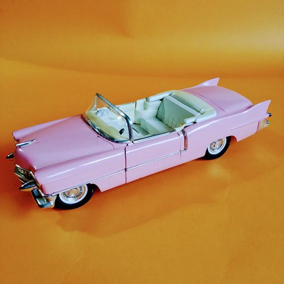 Model samochodu cadillac eldorado, france