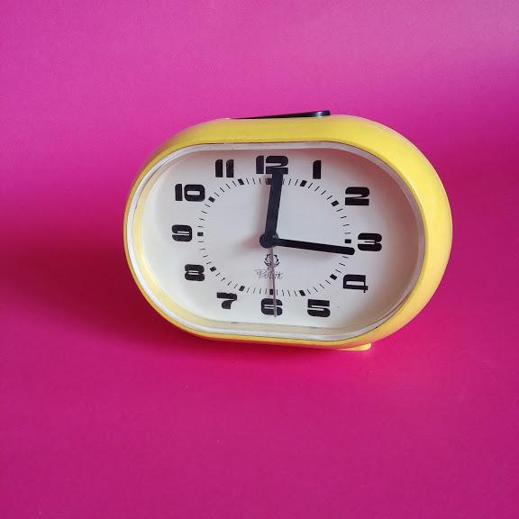 Zegar, budzik Mera-Poltik, lata 70