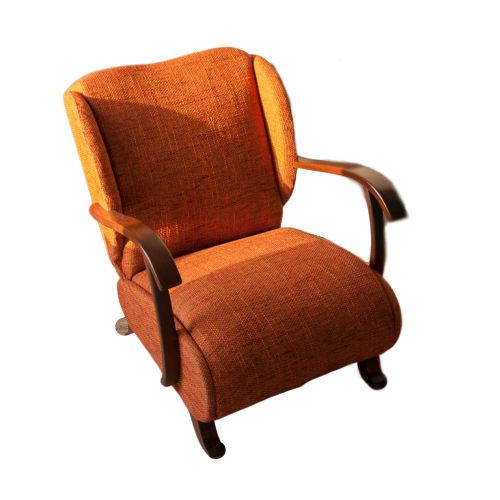 fotel uszak PRL vintage design