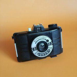 stary aparat fotograficzny marki druh PRL vintage sklep