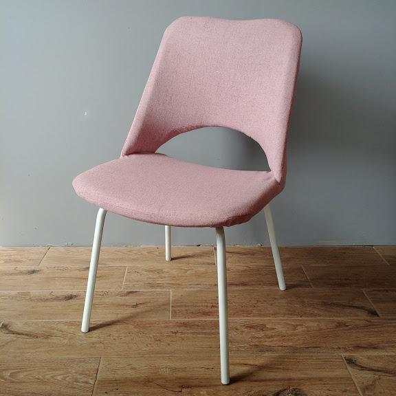 Krzesło Meblomet różowy