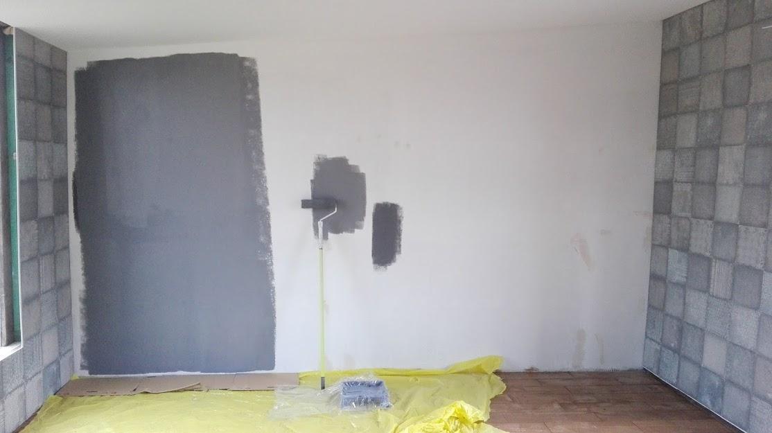 jak pomalować ścianę