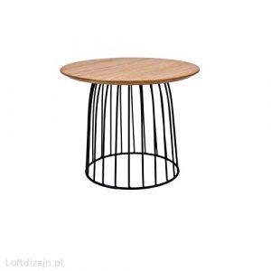 Stolik kawowy okrągły loft