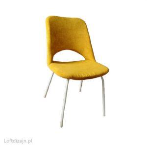 Krzesło Meblomet musztardowy