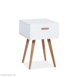 Mała biała szafka Milan s3