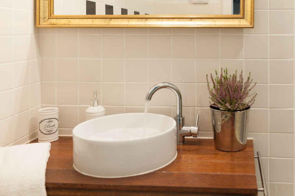 aranżacja umywalka