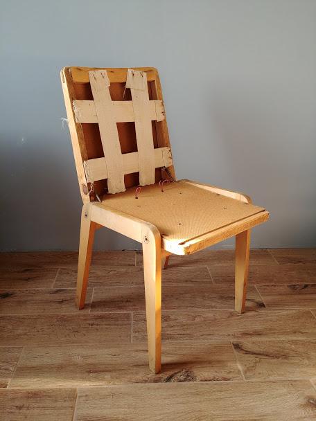 Krzesło Aga renowacja zrób to sam!