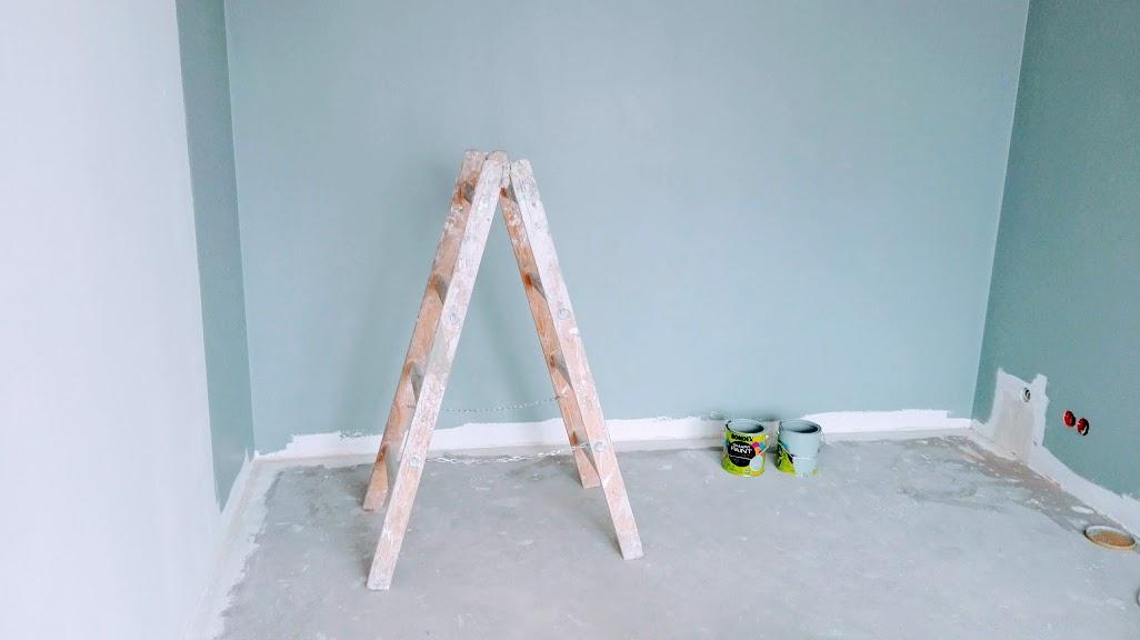 jak samemu pomalować ściany w mieszkaniu?