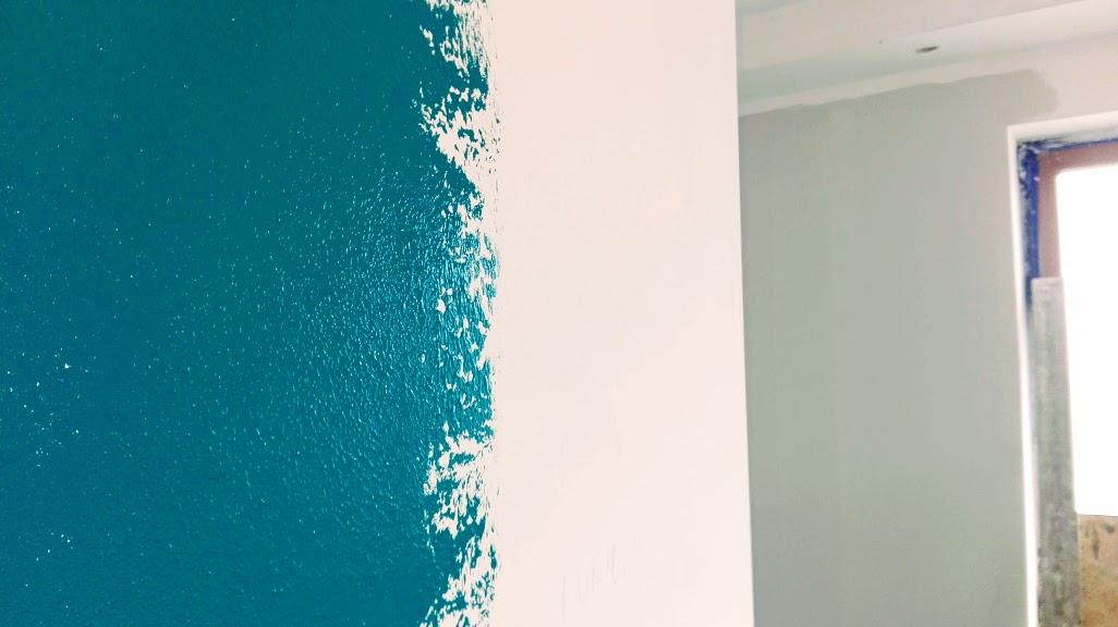 Jak malować ściany na dwa kolory