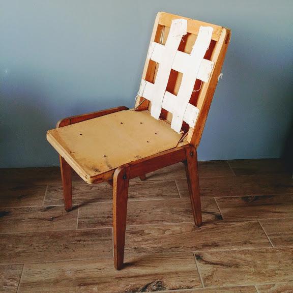 Krzesło Aga Renowacja wnętrze