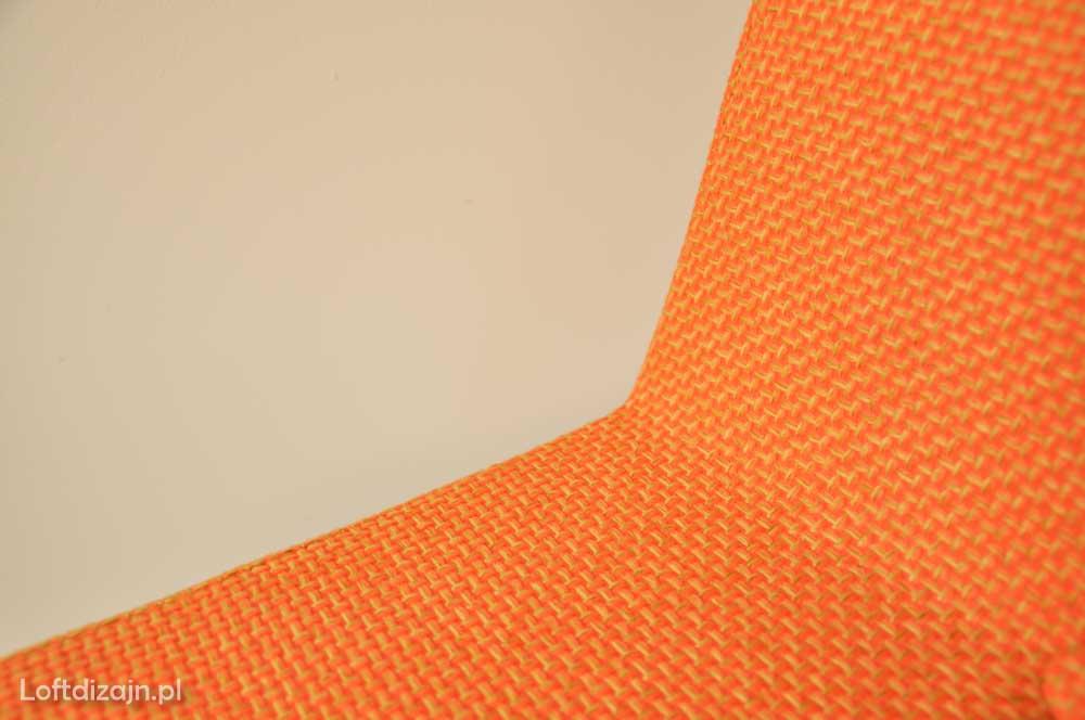 Krzesło Aga tapicerka pomarańczowa