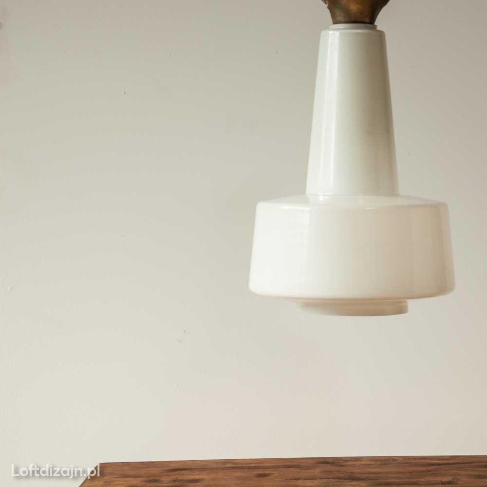 lampy PRL. Lampa z lat 70