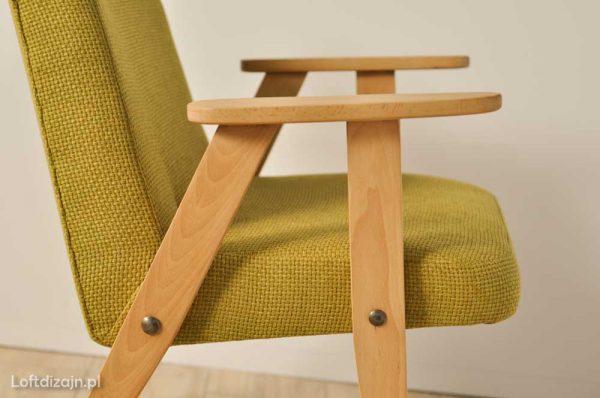 Fotel 366 jasna zieleń