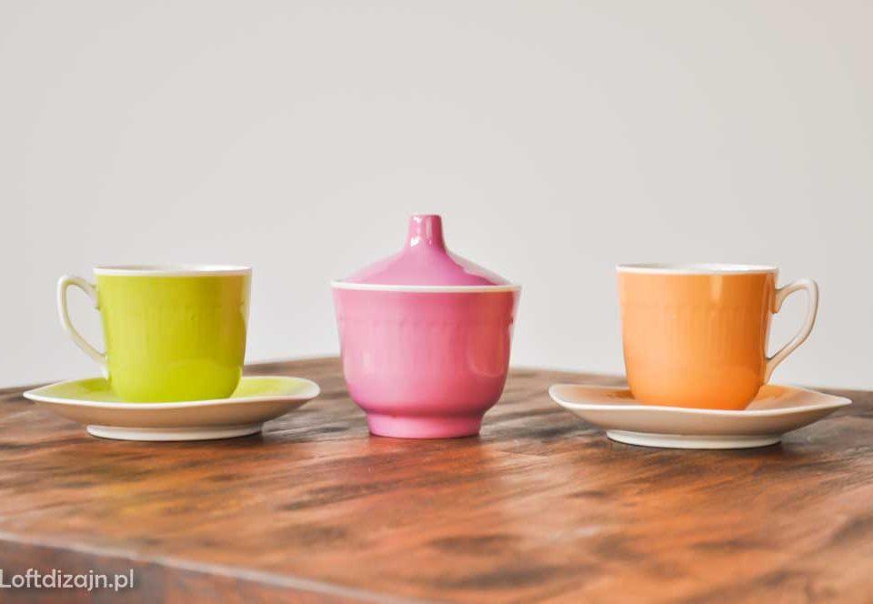 Zabytkowa ceramika PRL
