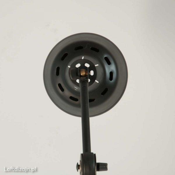 Stara lampa podłogowa industrialna