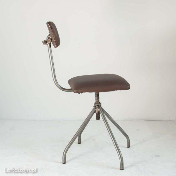 Krzesło warsztatowe lata 70