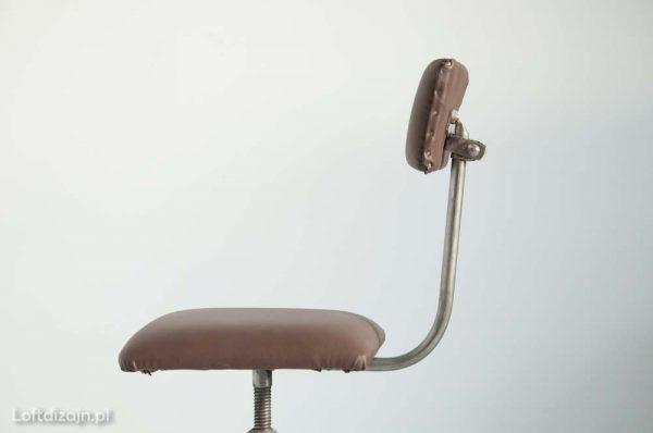 Krzesło industrialne lata 70