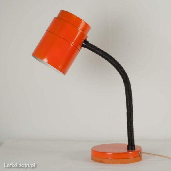 Lampka biurkowa lata 70