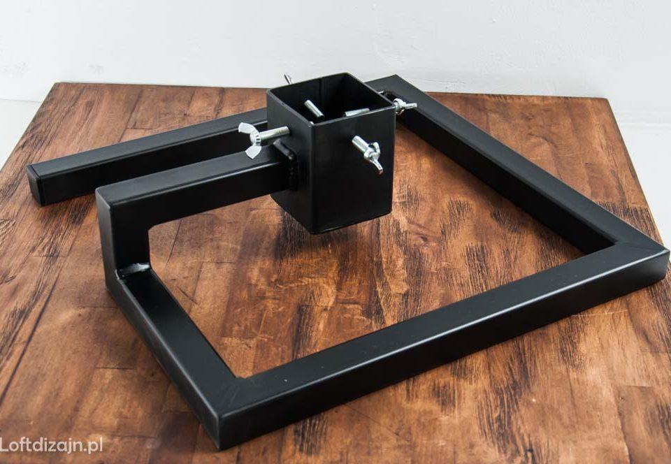 metalowy stojak choinkowy