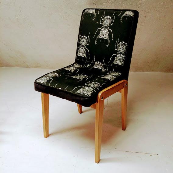 Krzesło Aga renowacja na zamówienie Kraków