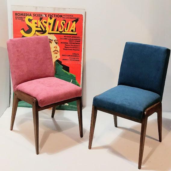 Krzesło Aga renowacja na zamówienie